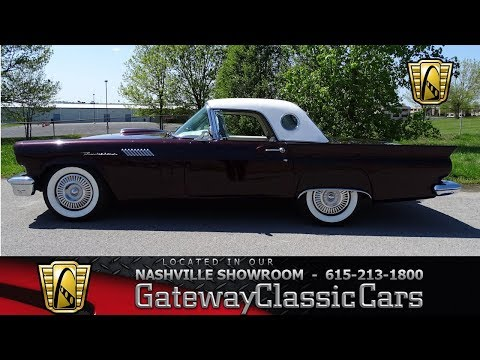 1957 Ford Thunderbird Convertible Gateway Classic Cars Nashville