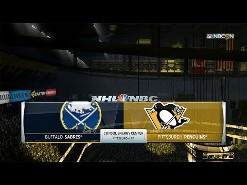NHL 17 (PS4) - 2017-18 - Game 24 vs Sabres