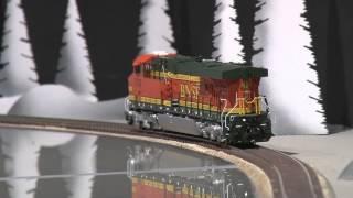 066489-HO Brass Model Train - OMI 87010080.1 BNSF Heritage GE AC Evolution ES44AC Diesel #5732 - 200