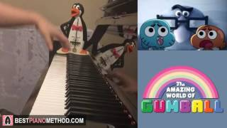 The Amazing World Of Gumball - The Sale Song - Never Gonna Let You Go (Piano Cover by Amosdoll)