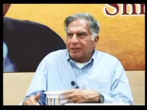 Leadership Lecture Series Interaction With Mr. Ratan N. Tata Part # 1/4