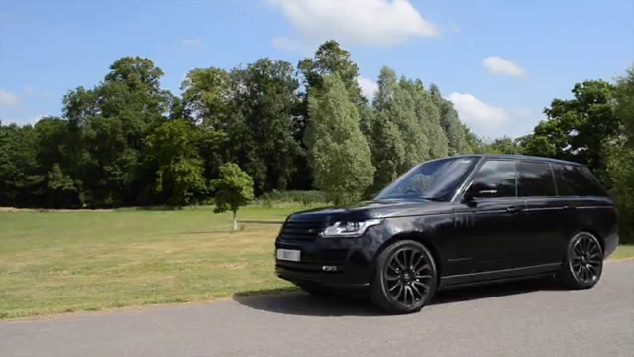 Range Rover Autobiography Black Pack - YouTube