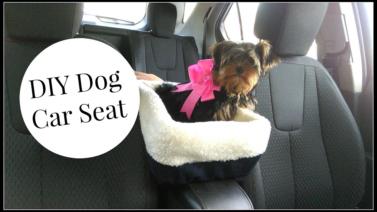 diy dog car seat tutorial youtube. Black Bedroom Furniture Sets. Home Design Ideas