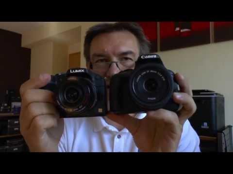 Canon EOS 100D/Rebel SL1 vs. Panasonic Lumix DMC-G6 - DSLR vs. DSLM (English Version)