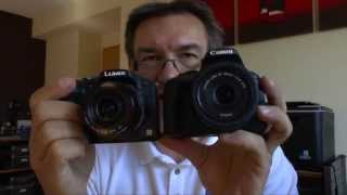 Canon EOS 100D/Rebel SL1 vs. Panasonic Lumix DMC-G6 - DSLR vs. DSLM (English Version)
