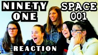 Ninety One SPACE № 001 Reaction