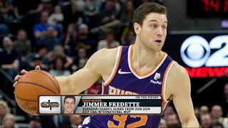 Suns G Jimmer Fredette on His Return to the NBA from China   The Dan Patrick Show   3/26/19