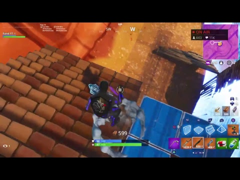 Fortnite Live stream Ps4 Live Stream Fortnite Battle Royale Fast Console Builder #ChronicGrind