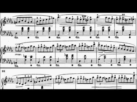 Trinity TCL Piano 2015-2017 Grade 8 B2 Chopin Valse (Minute Waltz) Op.64 No.1 Sheet Music