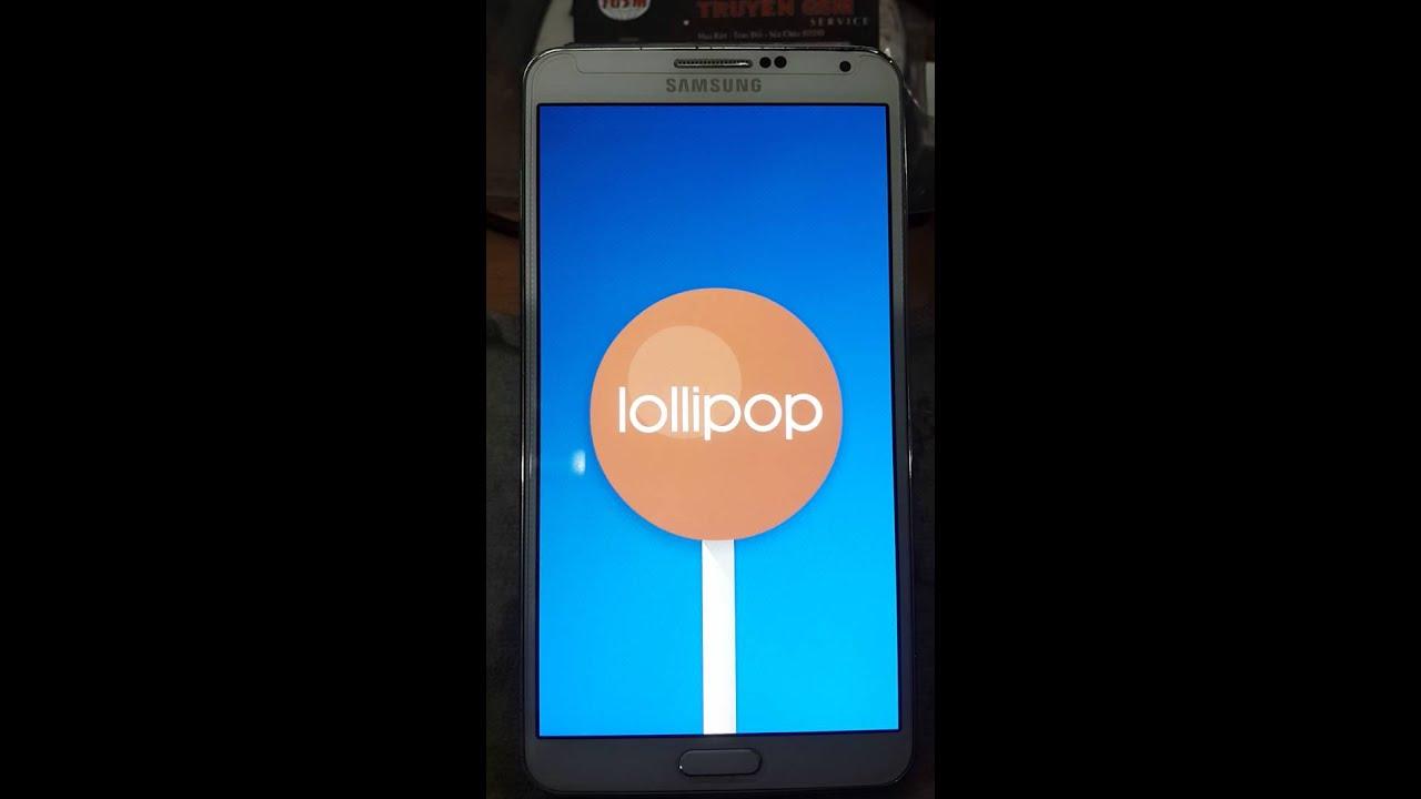 Note 3 N9002 Lollipop 5 0 Tiếng Việt CH Play Ok | Cộng Đồng