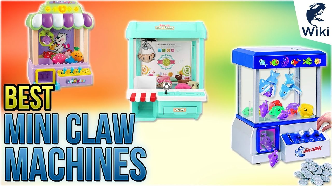 Top 7 Mini Claw Machines of 2019 | Video Review