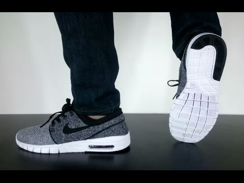 c082b7aa87 NIKE SB STEFAN JANOSKI MAX white black dark grey - YouTube