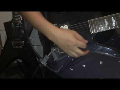 Fernandes Acrylic Mockingbird Clean sound.