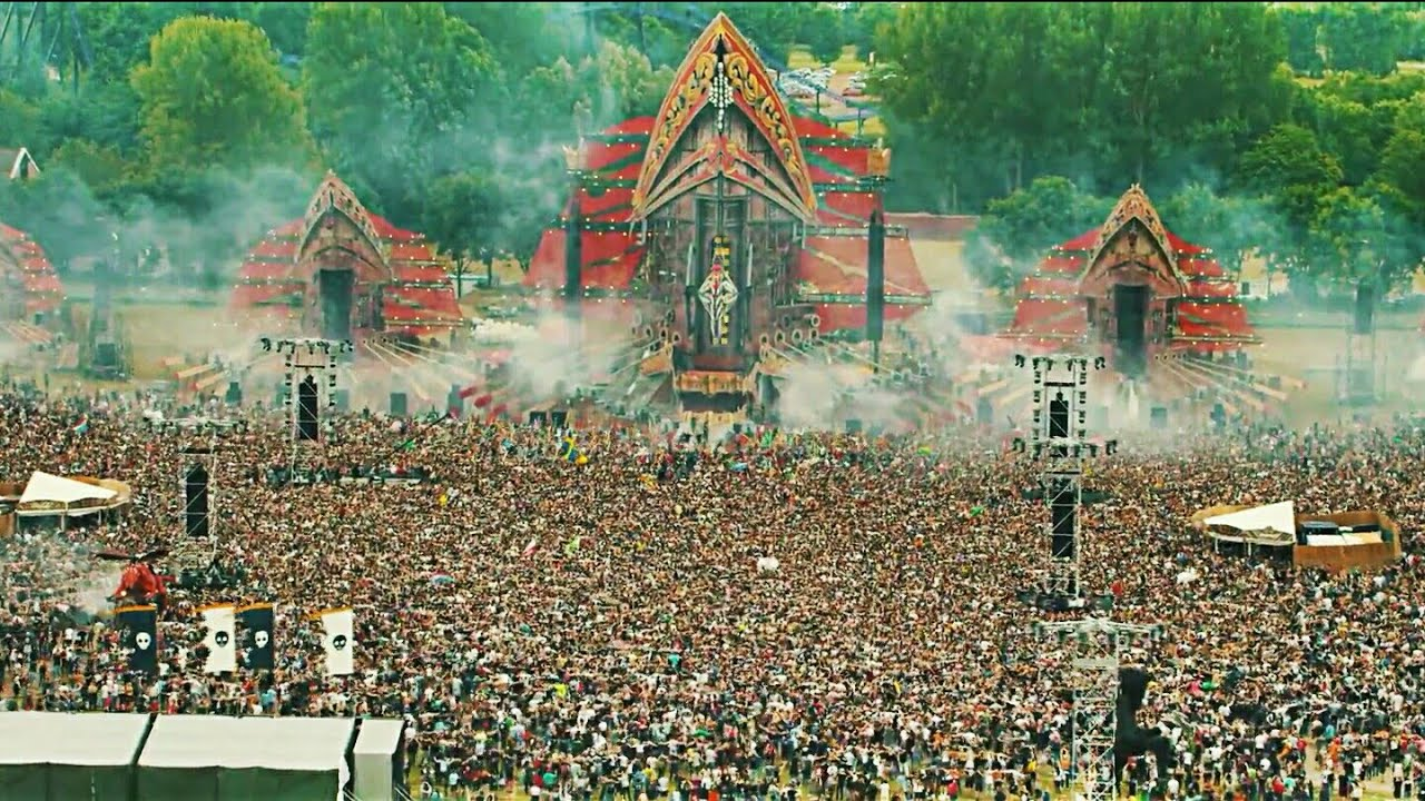 Download Defqon.1 - Earthquake | Crowd Control - Left To Right