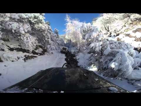 Snow Run - Huachuca Cayon