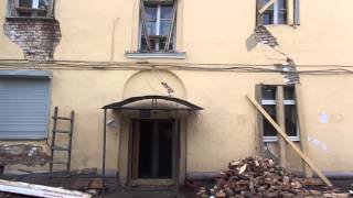 Падающий дом по адресу - г. Красноярск, ул. Краснодарская,д.2