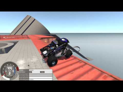 The Monster Truck and Other Stuff - Beamng Drive