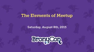 The Elements of Meetup