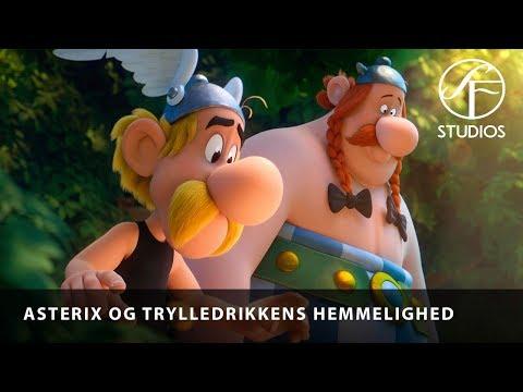 Asterix og Trylledrikkens Hemmelighed - Trailer (dansk tale) - I biograferne 11. april