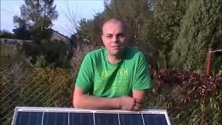Jak to zrobić. Zestaw solarny na działkę.Mini elektrownia fotowoltaiczna.Free energy.Własny prąd