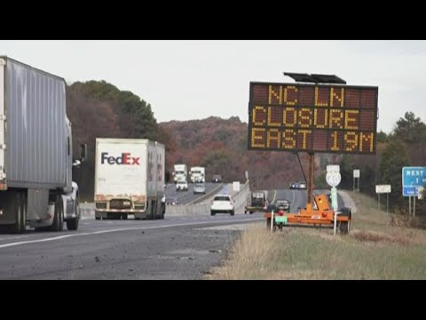 NC crews to close I-40 West through the Pigeon River Gorge for nearly a week