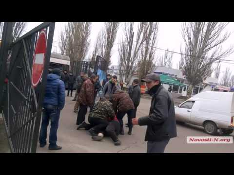 Видео Новости-N: Задержание стрелявшего на авторынке в Николаеве