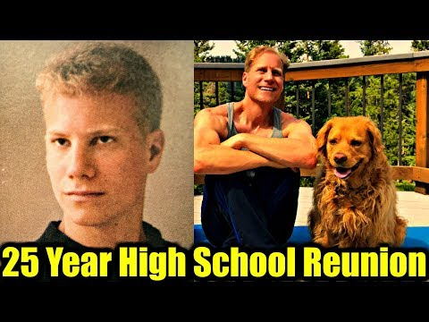 My 25 Year HS Reunion = 25 Burpees + Shirtless Swimsuit Competition
