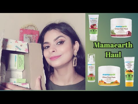 MAMAEARTH HAUL || Mamaearth skincare & haircare products || Best Mamaearth products || 2020 from YouTube · Duration:  8 minutes 43 seconds