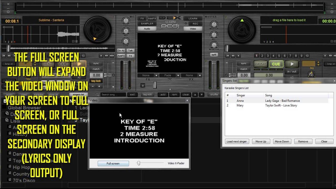 PCDJ DEX 2 DJ Software Support Page | PCDJ