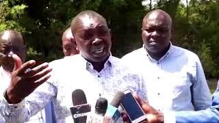Oscar Sudi: Joshua Kutuny is not a Kalenjin