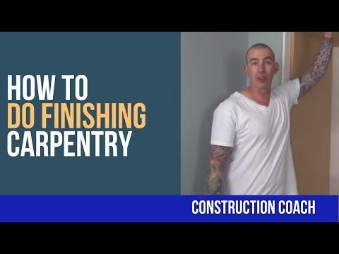 How to do Finishing Carpentry - DIY Tips!