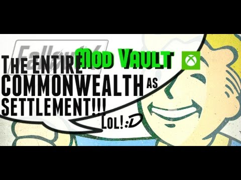 Fallout 4 Console Mods: The ENTIRE COMMONWEALTH as SETTLEMENT!! BIGGEST GAMECHANGING MOD Ever!!! :D