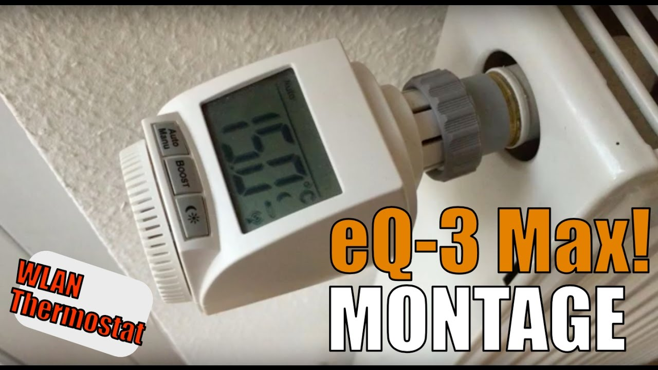 Heizkörperthermostat Max Eq 3 Max Günstige Alternative Zu Eve Thermo Tado Wlan Thermostat