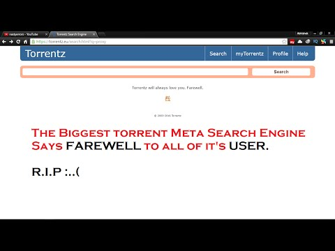 Why Torrentz.eu is Not Working.(R.I.P)
