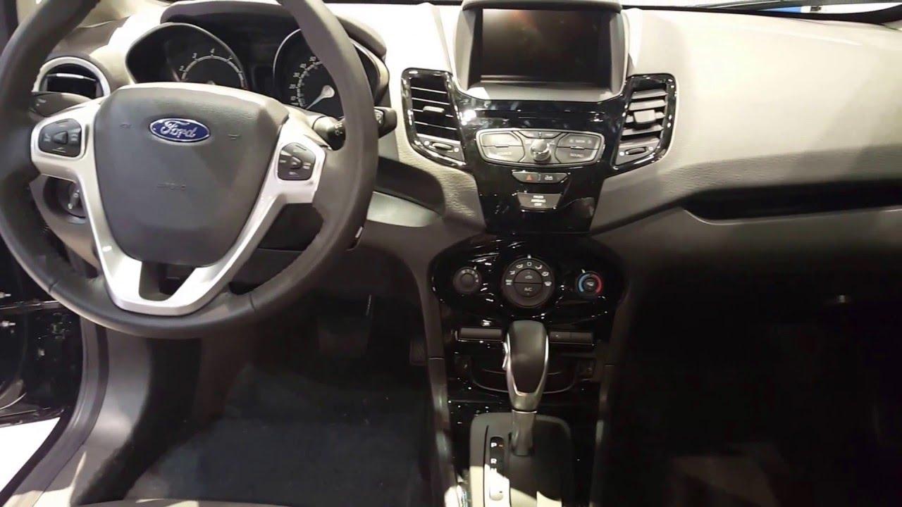 2016 Ford Fiesta Hatchback Interior 2016 Chicago Auto Show