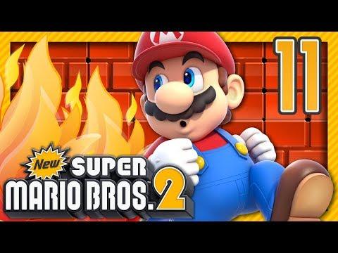 AU FEU ! | NEW SUPER MARIO BROS 2 EPISODE 10 CO-OP NINTENDO 3DS FR