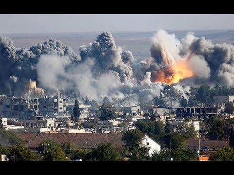 СРОЧНО! США, Британия и Франция нанесли авиаудары по Сирии \ USA, Britain and France attacked Syria
