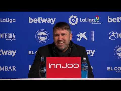 Rueda de prensa Deportivo Alavés vs RC Celta
