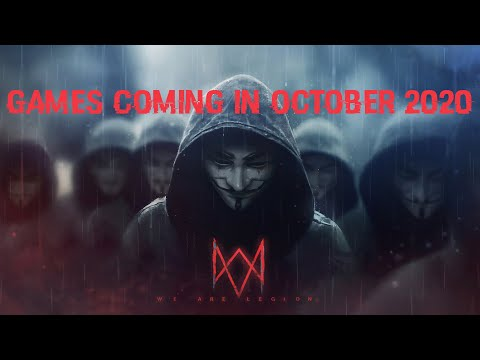 Games Coming In October 2020 | Watch Dog Legion | PC,PS4,XBOX