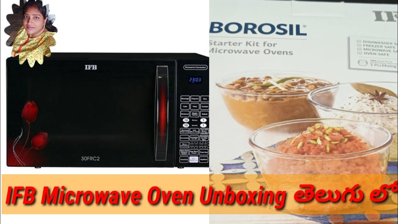 Ifb Microwave Oven Unboxing In Telugu Youtube