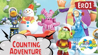 DIBO Sing Along   Counting Adventure   Learning Songs   Preschool Cartoon Songs   Learning For Kids