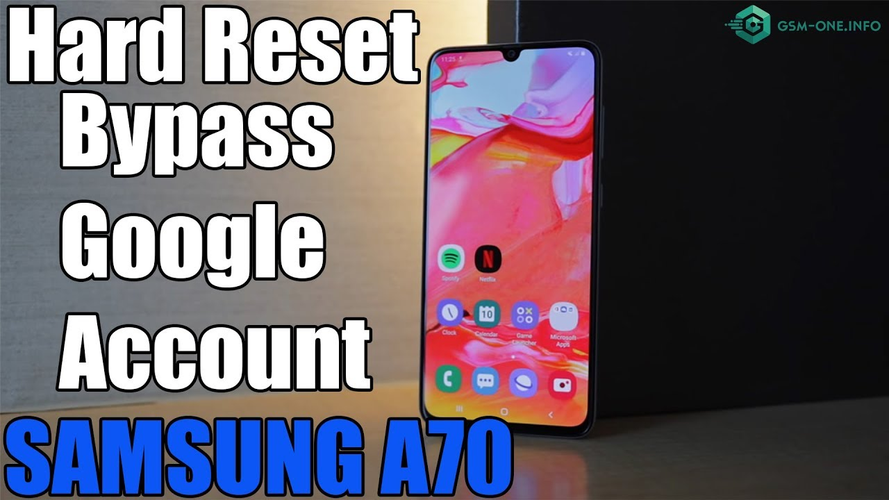 2019 Update | Hard Reset & Bypass Google Account SAMSUNG Galaxy A70 | Pin  SIM Notworking