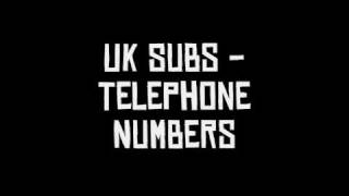 Watch Uk Subs Telephone Numbers video