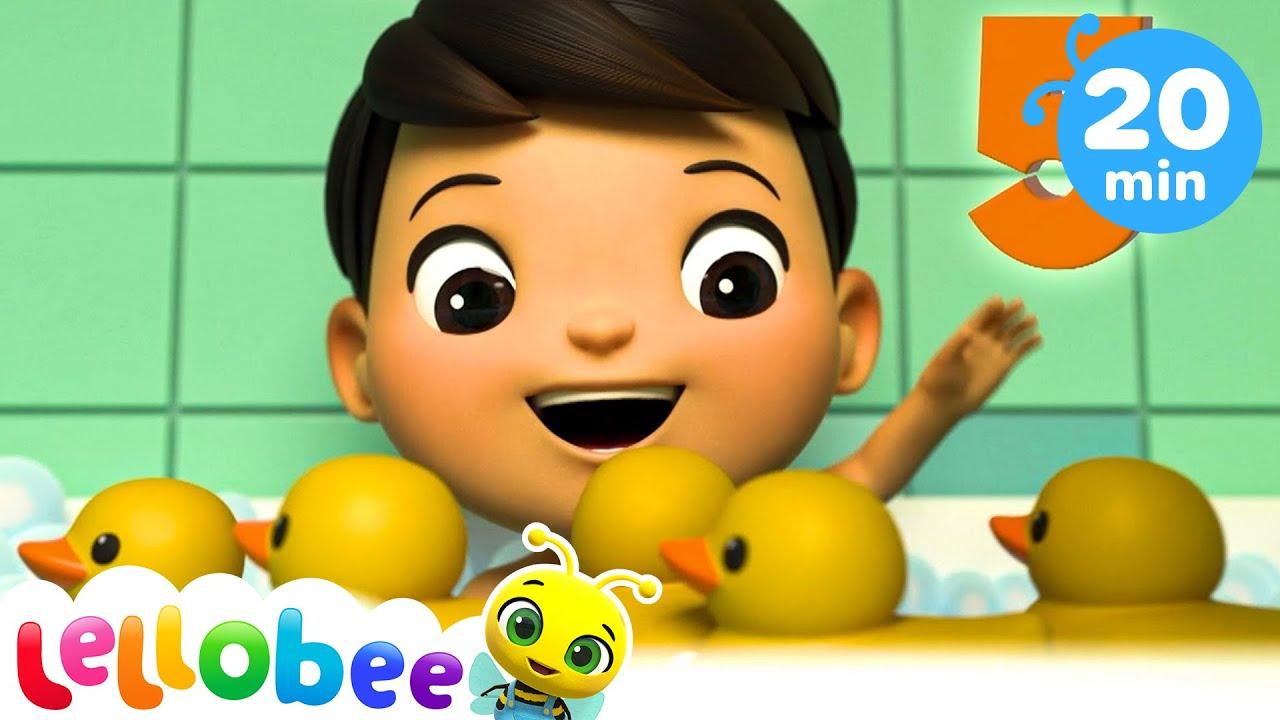 5 Little Ducks   Baby Songs   +More Nursery Rhymes   Songs For Kids   Little Baby Bum