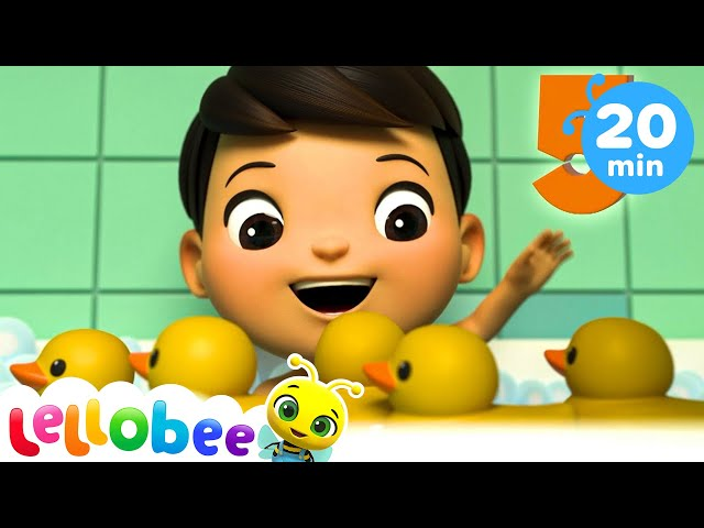 5 Little Ducks | +More Nursery Rhymes | Songs For Kids | Little Baby Bum