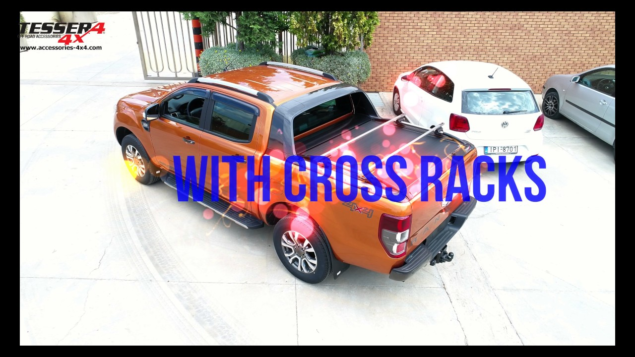 At www.accessories-4x4.com: Ford Ranger Wildtrak 2016 4x4 aluminum roller lid + extra accessories