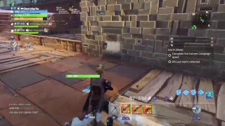Playing some Save The World [LIVE]   !epic to play