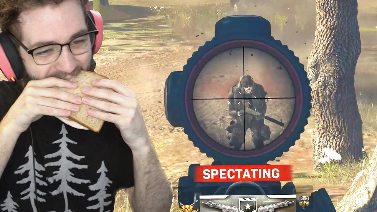 I SPECTATED WARZONE SOLOS while MAKING FOOD