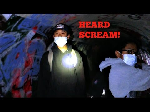 Haunted Tunnel That Faze Rug Went To Heard Scream Youtube