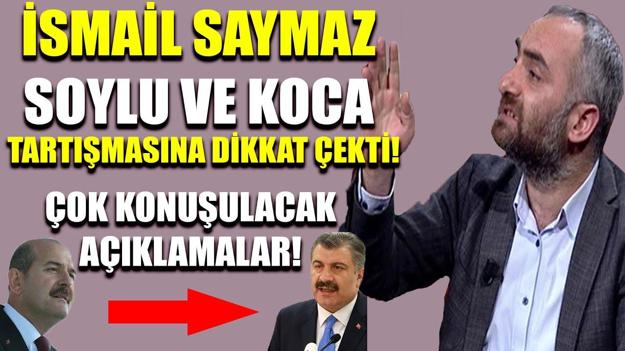 İsmail Saymaz, Süleyman Soylu ile Fahrettin Koca arasında geçenlere dikkat çekti!